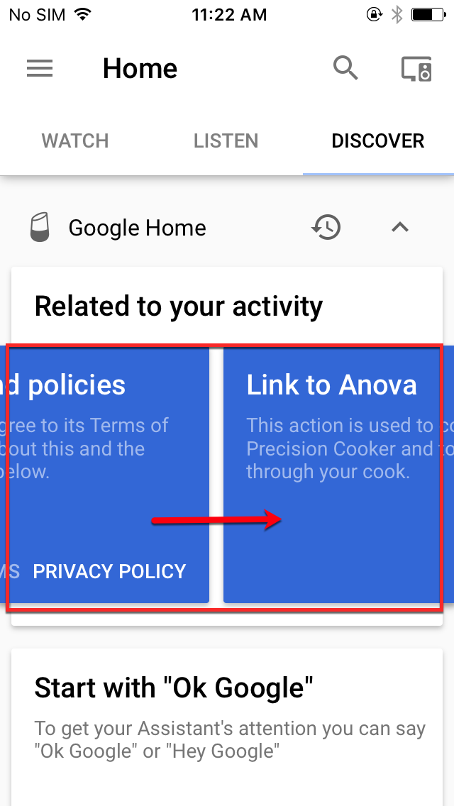 how to connect phone to google home